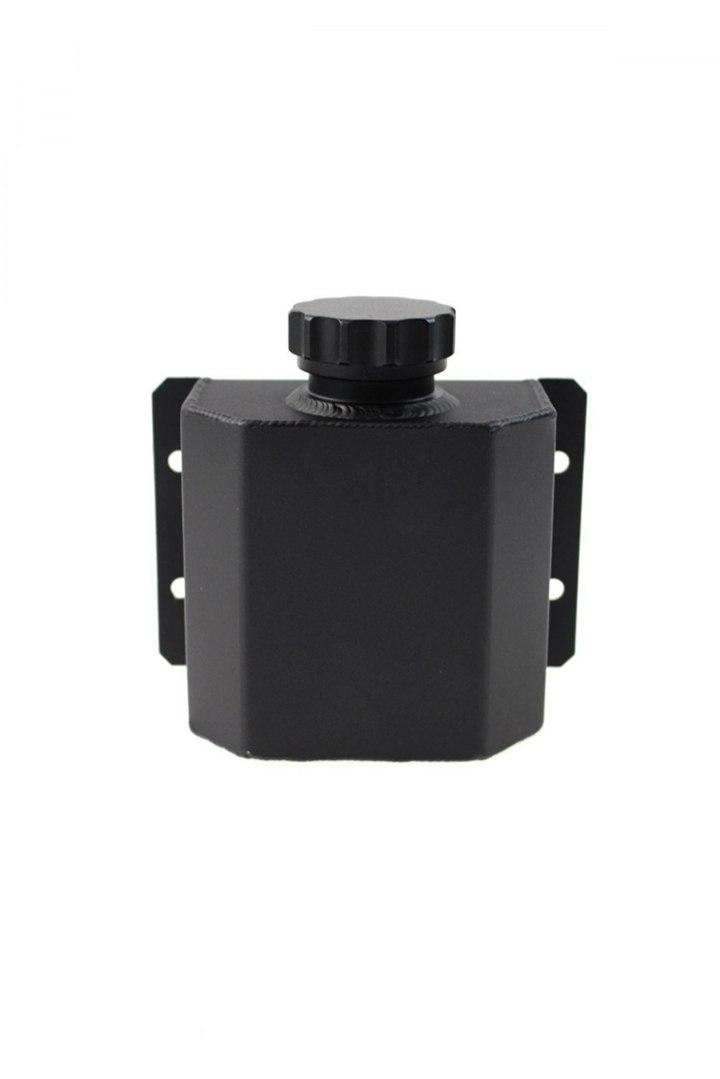 Oil catch tank grodziowy 1L 10mm TurboWorks Black - GRUBYGARAGE - Sklep Tuningowy
